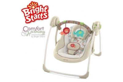 Детские электронные качели Bright Starts 60194 Львенок.
