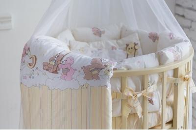 Постельное в круглую кроватку Забава (5 предметов)