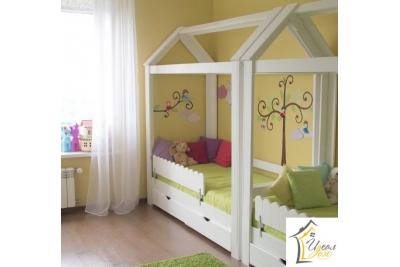 Кровать домик арт. IDDO-11.2