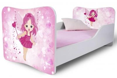 Кровать детская от 3х лет модель Rainbow Фея.