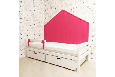 Кровать Домик модель 04 (Бортик безопасности в комплекте).