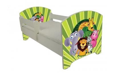 """Кровать детская от 3-х лет oskar """"Мадагаскар""""."""