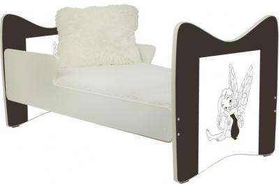 """Кровать подростковая""""Шоколадная фея"""" 180x90."""