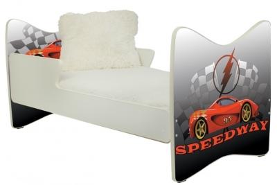 """Кровать подростковая """"Speedway"""" 180x90."""