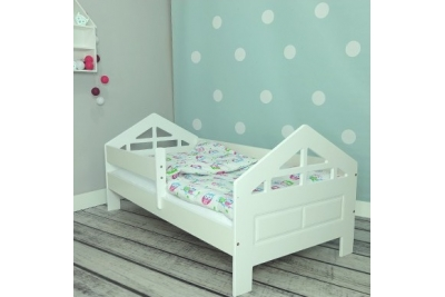 Кровать детская от 3х лет Pola модель- 2 с матрасом и бортиком.