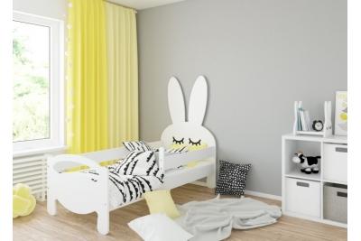 Кровать детская Bunny с матрасом и бортиками..