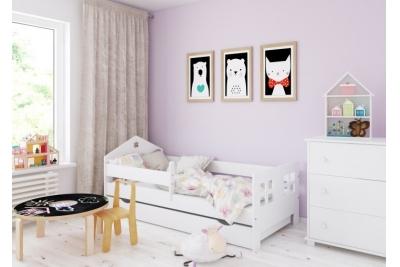 Кровать домик Пола 140х80