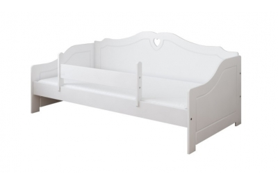 Кровать детская от 3х лет Лаура-3 (модель 3) с матрасом, бортиком и подкроватным ящиком.