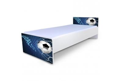 """Кровать подростковая Nobiko """"Футбол"""" с матрасом."""