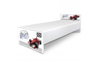 """Кровать подростковая Nobiko """"Формула"""" с матрасом."""