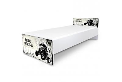 """Кровать подростковая Nobiko """"Quadro"""" с матрасом."""