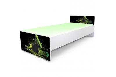"""Кровать подростковая Nobiko """"Экстрим"""" с матрасом."""