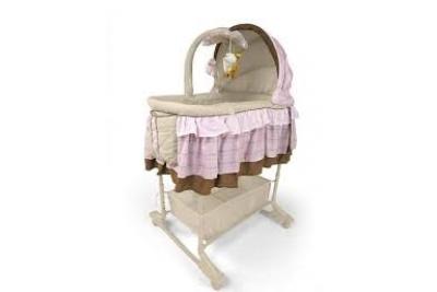 Детская колыбель для новорожденного Milly Mally Sweet Melody Pink.