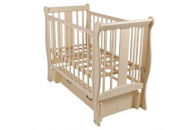 Кровать детская ВЕНЕЦИЯ Слоновая кость.