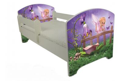 """Кровать детская от года модель Оскар """"Колокольчик""""  с матрасом."""