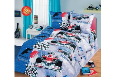 Детское постельное для подростков «Формула». (бязь)