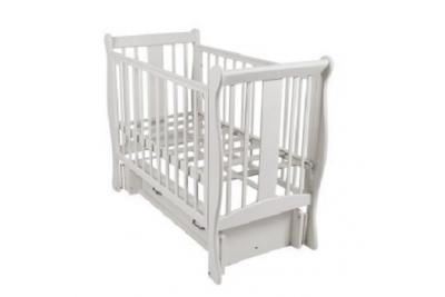 Кровать детская ВЕНЕЦИЯ Белая.