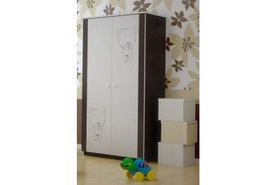 Шкаф в детскую серия Оскар Шоколадный жираф.