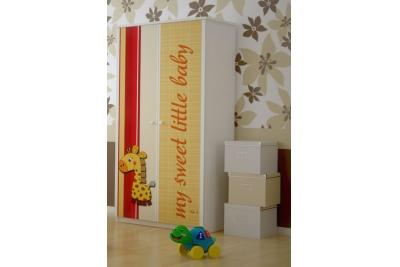 Шкаф в детскую серия Оскар Милашка жираф.