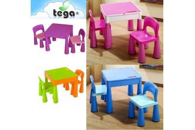 Детский комплект мебели Tega baby Mamut цвет салатово-оранжевый