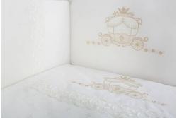 Комплект в кроватку Карета арт. 6032/4 бежевый