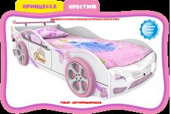 Кровать-машинка Maxi Принцеса престиж.