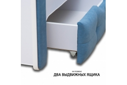 Тахта детская Klio 1900х900 (голубой)