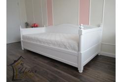 Кровать детская от 3 лет мотив ( из массива сосны).