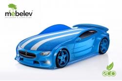 "Кровать-машина NEO ""Тесла"" синий."