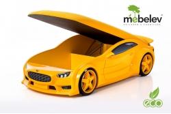 """Кровать-машина NEO """"Астон Мартин"""" желтый."""