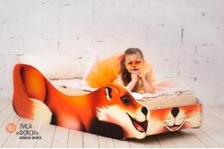 Кровати зверята Лиса Фокси.