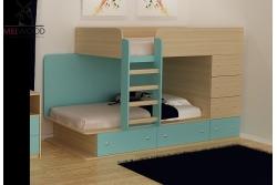 Кровать двухъярусная Leo2.