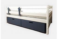 Кровать детская Стандарт с подкроватными ящиками.