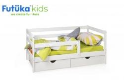Детская кровать Scandi Sofa с бортиком.