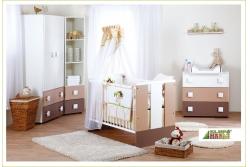 Детская кроватка KLUPS Paula Latte.