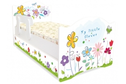 Кровать детская Цветочные сны с матрасом.