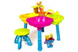 Игровой комплекс Песочный столик с пасочками Kinderway 01-121.
