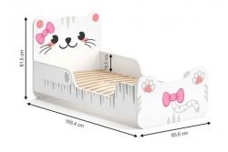 Кровать детская  Китти с матрасом
