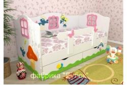 Кровать детская Смурфетта (фабрика Дубок).