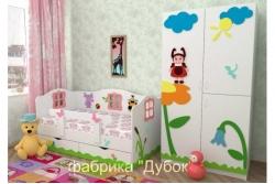 Кровать детская Лунтик (фабрика Дубок).