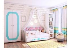 Детская комната Классик коллекция Бирюза.