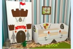 Кровать детская Камелотик (фабрика Дубок).