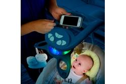 Детские электронные качели Bright Starts 60347 «Божья коровка».