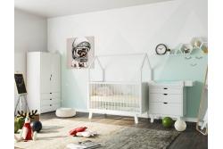 Кровать домик для детей с рождения Sweet Dreams 140х70