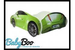 Детская кровать-машина BabyBoo AUTO S-CAR 150x75 с матрасом цвет салатовый.