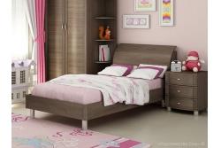Кровать подростковая  арт. КР-108 дуб пасадена.