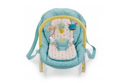 Детский шезлонг Happy Baby Nesty цвет blue