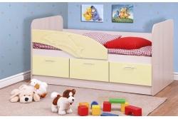 Кровать детская Дельфин цвет крем арт. 06.222