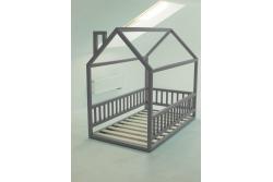 Кровать Домик модель арт. B-B/020 серая.