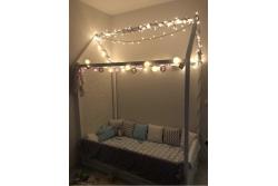 Кровать Домик Симпл (массив сосны).